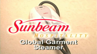Pinpoint Sunbeam Hospitality Global Garment Steamer